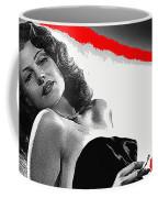 Film Noir Jean Louis Rita Hayworth Gilda 1946 Color Added 2012 Coffee Mug
