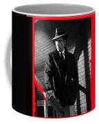 Film Noir John Huston Humphrey Bogart The Maltese Falcon 1941 Color Added 2012 Coffee Mug