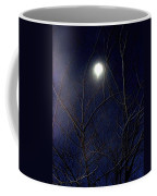 Film Noir Joseph H Lewis So Dark The Night 1946 Moon Trees Casa Grande Arizona 2000 Coffee Mug