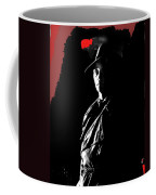 Film Noir Robert Mitchum In Trench Coat At Rko Radio 1 C.1947 Color Added 2013 Coffee Mug