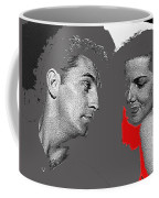 Film Noir Robert Mitchum Jane Russell His Kind Of Woman 1951 Rko Color Added 2012 Coffee Mug