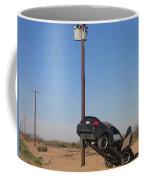 Film Noir Walter Hill Bruce Dern Ryan O'neal The Driver 1978 Car  Telephone Wire Arizona City Az Coffee Mug