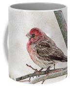 Finch Art Coffee Mug