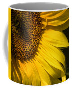 Find The Spider In The Sunflower Coffee Mug by Belinda Greb
