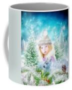 Finding Santa Coffee Mug by Mo T
