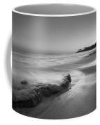 Finding Serenity Bw Coffee Mug by Michael Ver Sprill