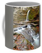 Finger Lakes Waterfall Coffee Mug