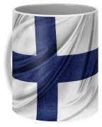 Finnish Flag Coffee Mug