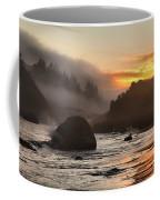 Fire And Fog At Trinidad Coffee Mug