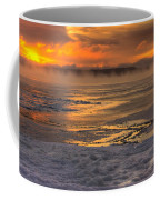 Fire And Ice Cropped Coffee Mug
