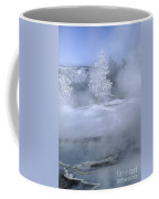 Fire And Ice II - Yellowstone Coffee Mug