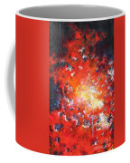 Fire Blazing In The Sky Coffee Mug
