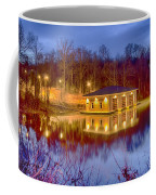 Fire Department Rescue Building On Water Coffee Mug