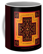 Fire Dragon Celtic Cross Coffee Mug