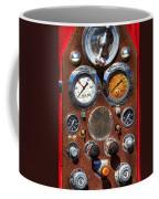 Fire Engine Gauges Coffee Mug