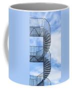 Fire Escape Coffee Mug by Antony McAulay