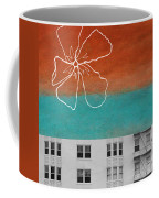 Fire Escapes Coffee Mug by Linda Woods