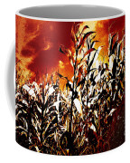 Fire In The Corn Field Coffee Mug