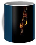 Fire In The Sax Coffee Mug