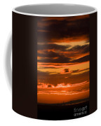 Fire In The Sky Coffee Mug by Anne Gilbert