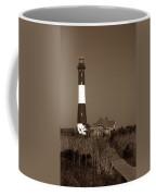 Fire Island Lighthouse Coffee Mug by Skip Willits