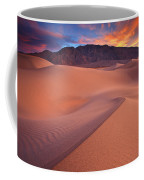 Fire On Mesquite Dunes Coffee Mug by Darren  White