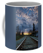 Fire On The Horizon Coffee Mug