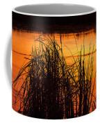 Fire On The Marsh Coffee Mug