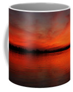 Fire On The River Coffee Mug