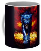Fire Panther Coffee Mug