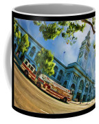 Fire Truck And Ferry Building Coffee Mug