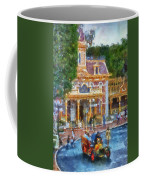 Fire Truck Main Street Disneyland Photo Art 02 Coffee Mug