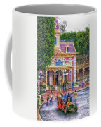 Fire Truck Main Street Disneyland Coffee Mug