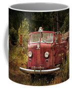 Fire Truck With Texture Coffee Mug