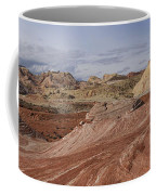 Fire Wave Panorama 1 Coffee Mug