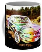 Firebird Expressive Brushstrokes Coffee Mug