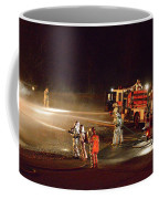 Firefighters At Work Coffee Mug