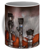 Firefighting - One For Everyone Coffee Mug by Mike Savad