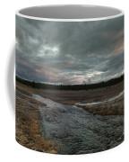 Firehole Lake Drive Sunrise - Yellowstone Np Coffee Mug