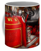 Fireman - Fire Engine No 3 Coffee Mug by Mike Savad