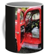 Fireman - Fire Truck With Fireman's Uniform Coffee Mug