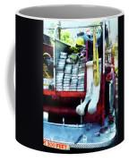 Fireman - Hoses On Fire Truck Coffee Mug