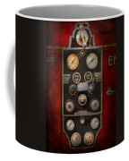 Fireman - Keep An Eye On The Pressure  Coffee Mug by Mike Savad