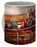 Fireman - Ladder Company 1 Coffee Mug by Mike Savad