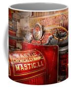 Fireman - Mastic Chemical Co Coffee Mug by Mike Savad
