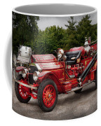 Fireman - Phoenix No2 Stroudsburg Pa 1923  Coffee Mug by Mike Savad