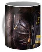 Fireman - Worn And Used Coffee Mug