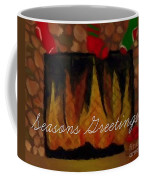 Fireplace - Seasons Greetings Coffee Mug