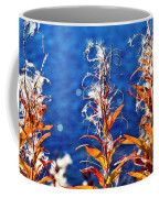 Fireweed Flower Coffee Mug by Heiko Koehrer-Wagner