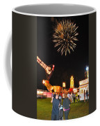 Fireworks At The Carnival Coffee Mug